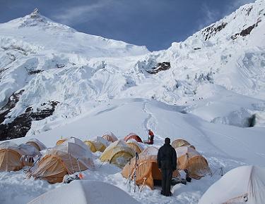 Camp 1 Manaslu