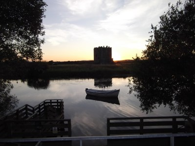 Threave Castle just outside my town. I often walk here and in the summer watch the osprey which nest near the castle.