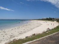 The main swimming beach of Robe