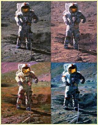 Cernan, Gnomon and Crater, 1998.