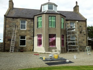 Masonary Painting House Before