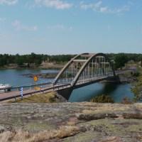 Pontonbro över Bomarsund alltför dyr