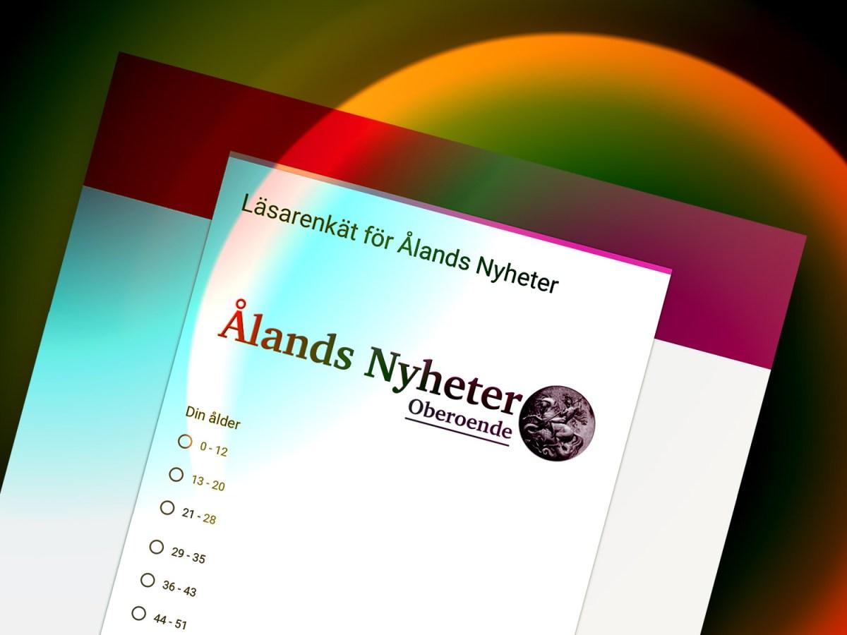 Ålands Nyheters läsarenkät