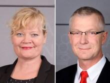 Katrin Sjögren och Roger Nordlund