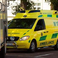 Bilförare avled efter avkörning i Grelsby