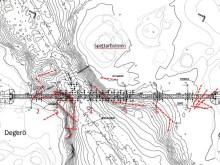 Planerad bro över Spettarhålet