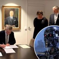 Rise of the machines: Småföretagare ska få hjälp av robotar och artificiell intelligens i nytt regeringsprogram