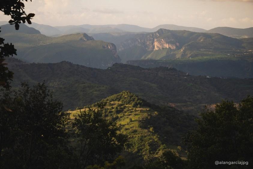Vista desde San Andres Tianguistengo, localidad de Actopan, Hidalgo.