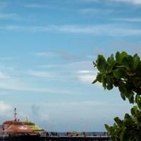 Una caminata por un puerto en Cancún