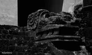 Escultura de Quetzalcóatl.