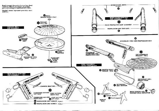 Reworking AMT-Ertl's U.S.S. Enterprise Kit, chapter 3