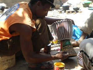 djembe making