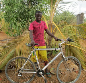 1 of several bikes used by the helpers of the Alanouwaly Centre to get around