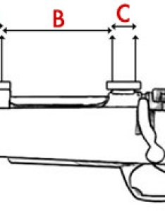 The hole spacing below is measured following way in mm see diagram also rifle for fitting picatinny rails or bases rh alanrhone