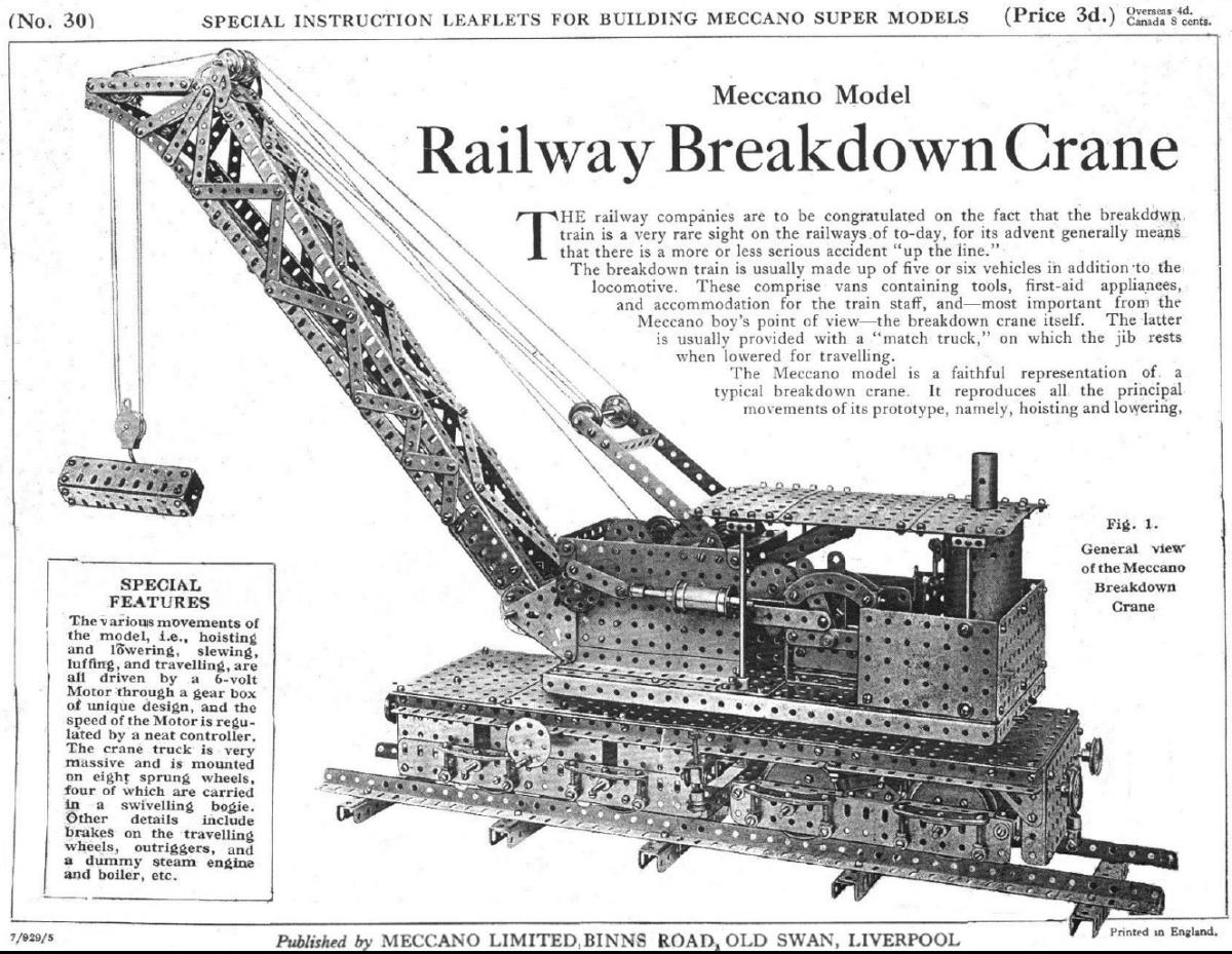 Pic104 Railway Breakdown Crane