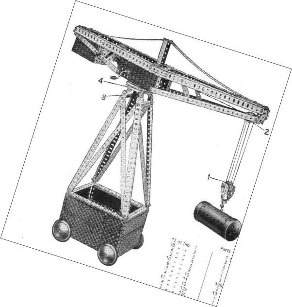 1929 Travelling Gantry Crane