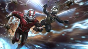 AntMan and Wasp
