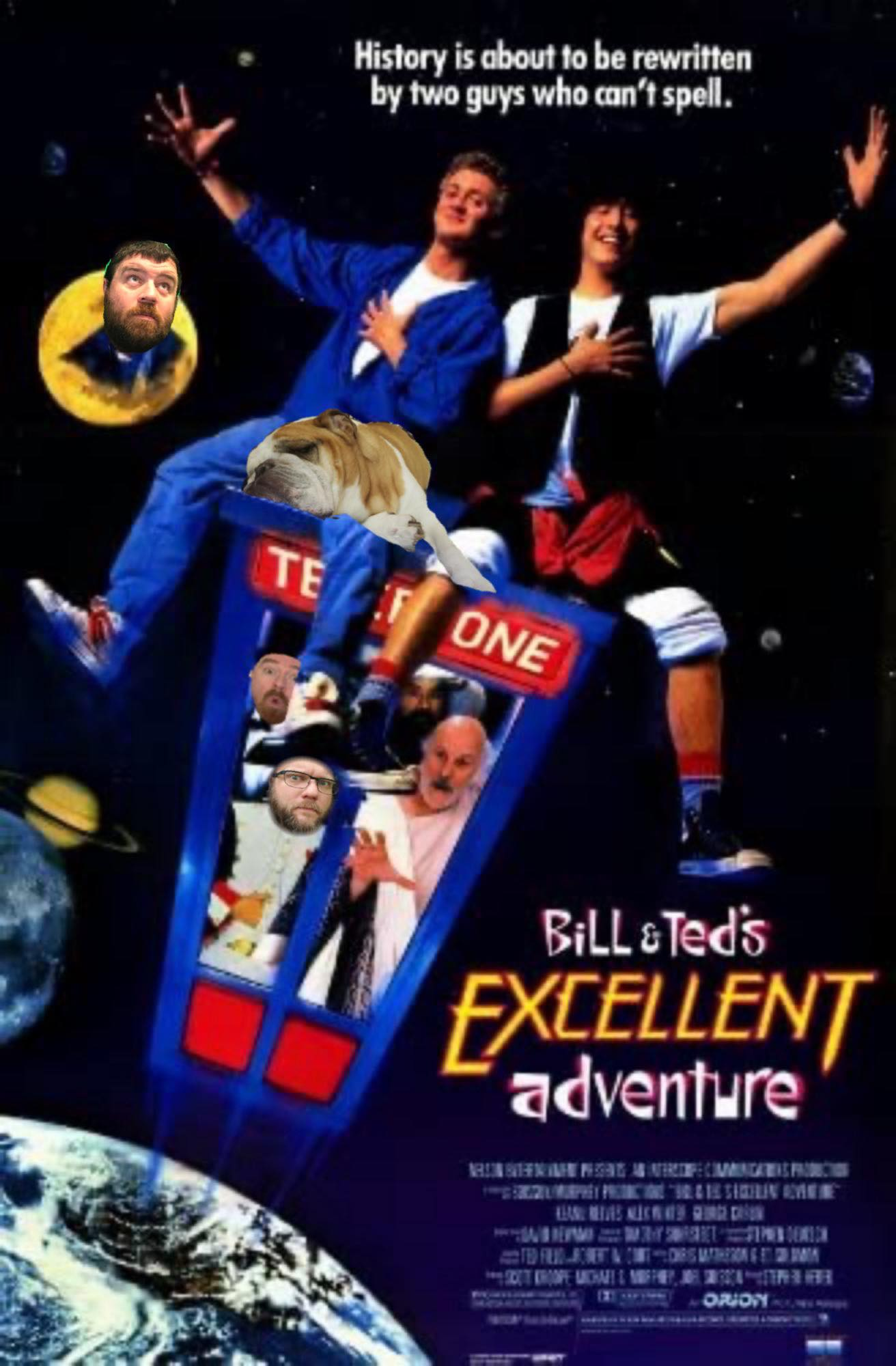 Bill and Ted Poster