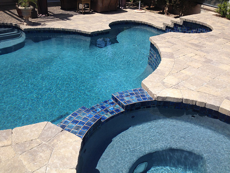 Paver Coping  Alan Smith Pools