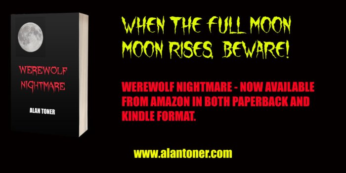 Werewolf Nightmare book