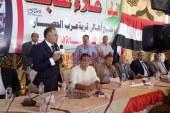 """فى حضور 13 نائبا بينهم وكيل البرلمان """"النائب علاء عابد"""" يصلح بين عائلتين بالصف"""