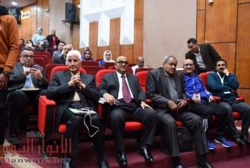 بالصور المجلس الأعلى لشئون التعليم والطلاب يشهد مسابقة الكورال والموسيقى بجامعه الفيوم