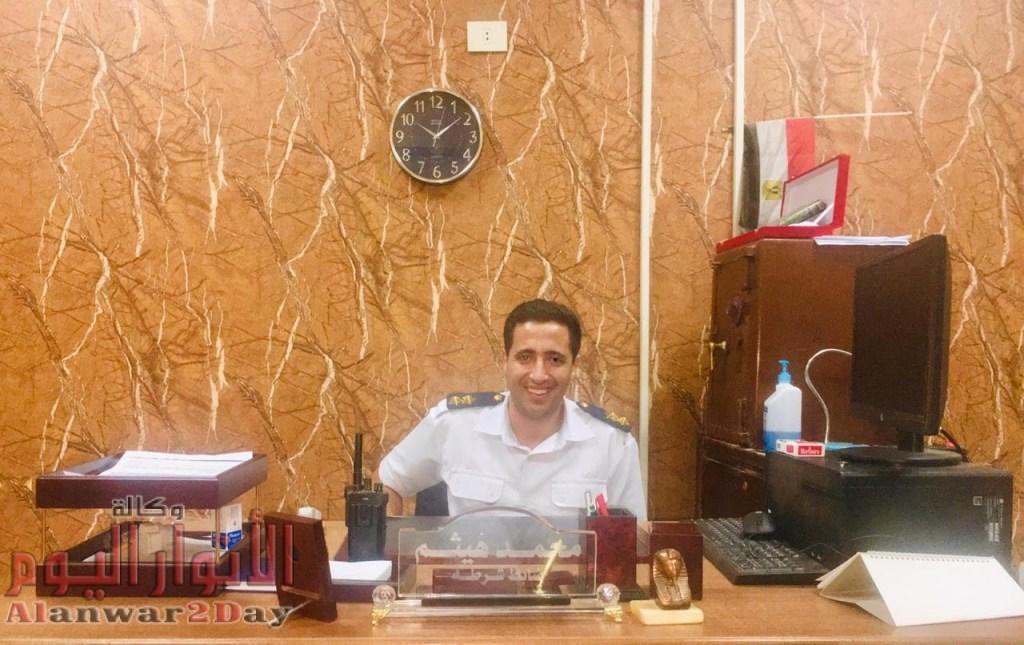 """وكــالــة الانــوار الـيــوم تهنئ النقيب """"محمد هــيـثــم"""" لتوليه منصب معاون الضبط بقسم إمبابة"""