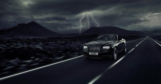 Rolls-Royce Dawn Black Badge kivitel