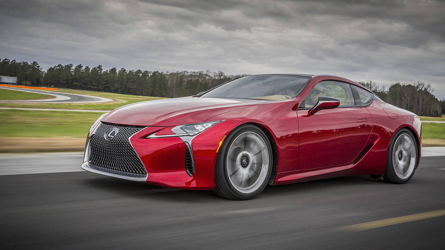 Lexus LC500 5,0 literes V8-as luxus coupe