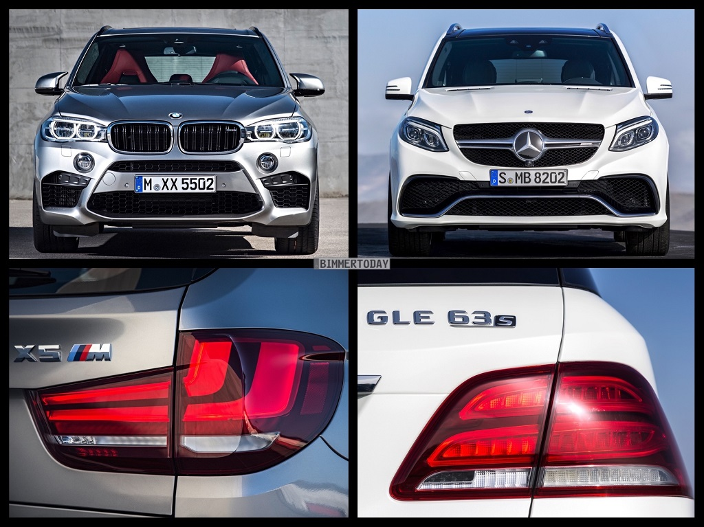 Mercedes-Benz GLE 63 vs. BMW X5 M