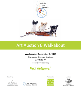 Artists for Animals Poster