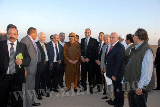 Gaddafi: If the Arabs can not Felicctoa war and the next generation free Palestine