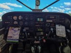 Cessna 206 Cockpit