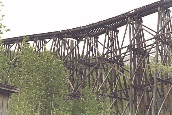 Old Copper Railroad in Chitina, Alaska