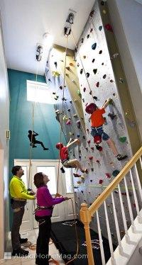 ALASKA HOME | ARCHITECTURE & DESIGN | CLIMBING THE WALLS ...