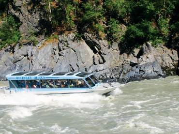Mahay's Jet Boat Tour in Devil's Canyon