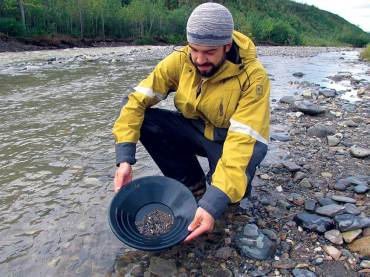 Gold Panning Demonstration