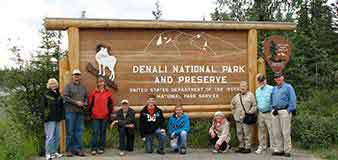 Alaska tour group