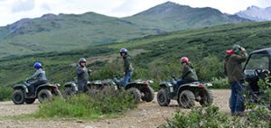 ATV tours in Denali Park