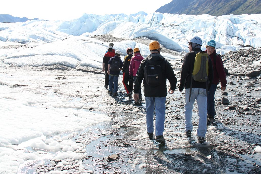 Guided Glacier trek