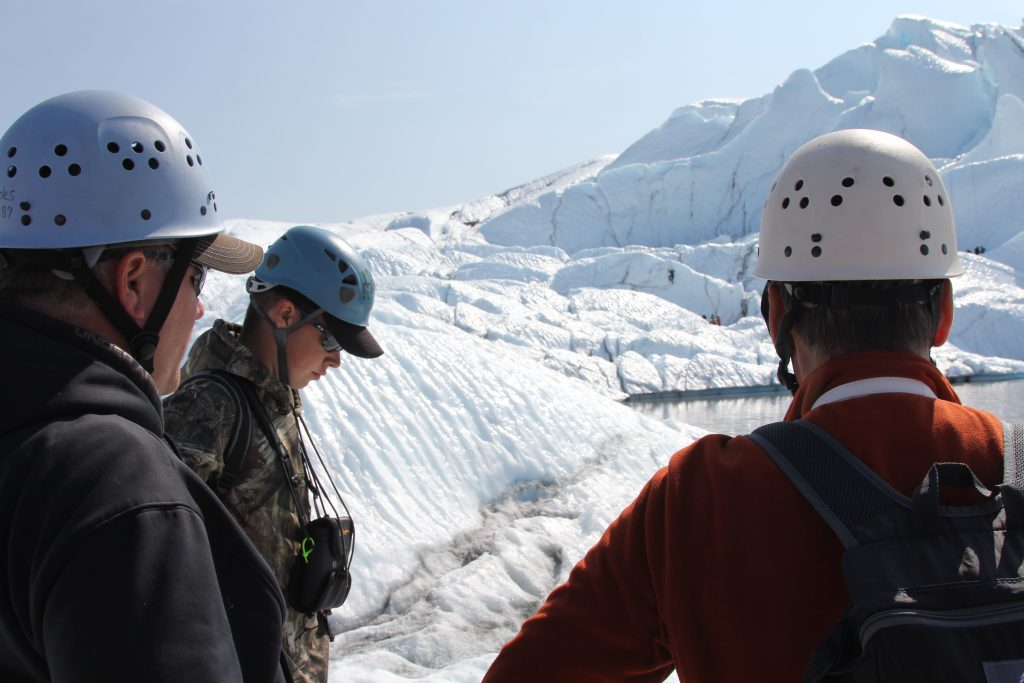 Glacier treks and tours