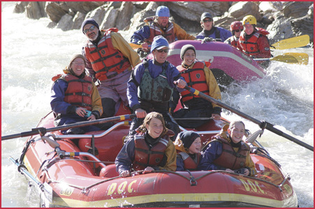 Rafting in Denali