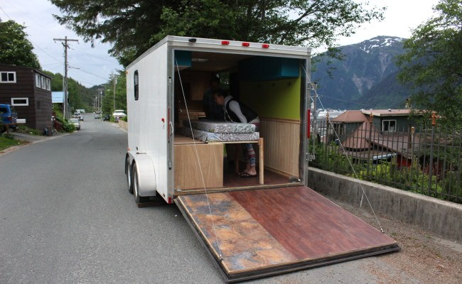 Ak Adventure Bound Juneau Couple Moves Into 8 600 Tiny