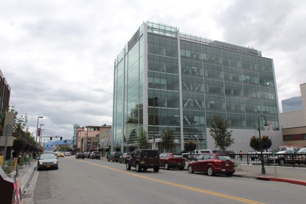 The Legislative Information Office in downtown Anchorage.