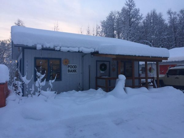 The Upper Susitna Food Pantry. (Photo courtesy of Andrea Manning)