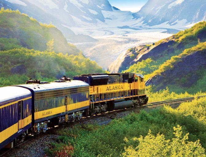 ride a train alaska