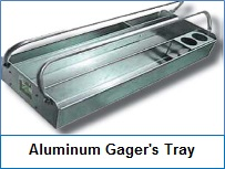Aluminum Gager's Tray