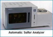 Automatic Sulfur Analyzer