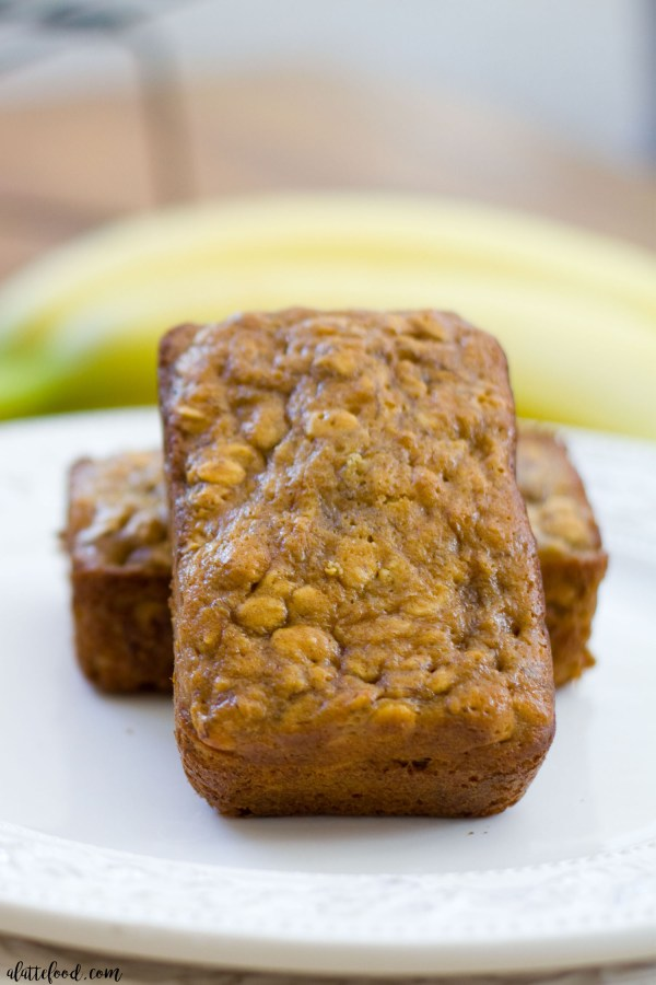 This peanut butter honey banana bread is filled with protein and lighter than the alternative homemade banana bread recipe! This healthier peanut butter honey banana bread has no refined sugar and less flour too!