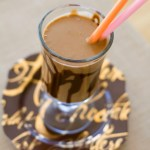 Healthy Peanut Butter Chocolate Milkshake | A Latte Food